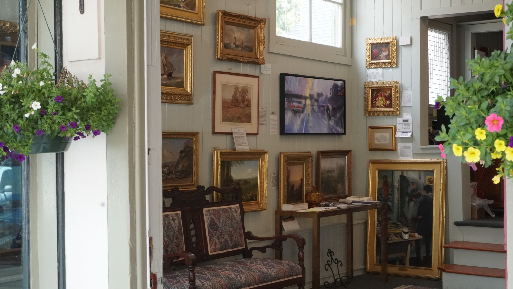 Art Galleries Newport RI