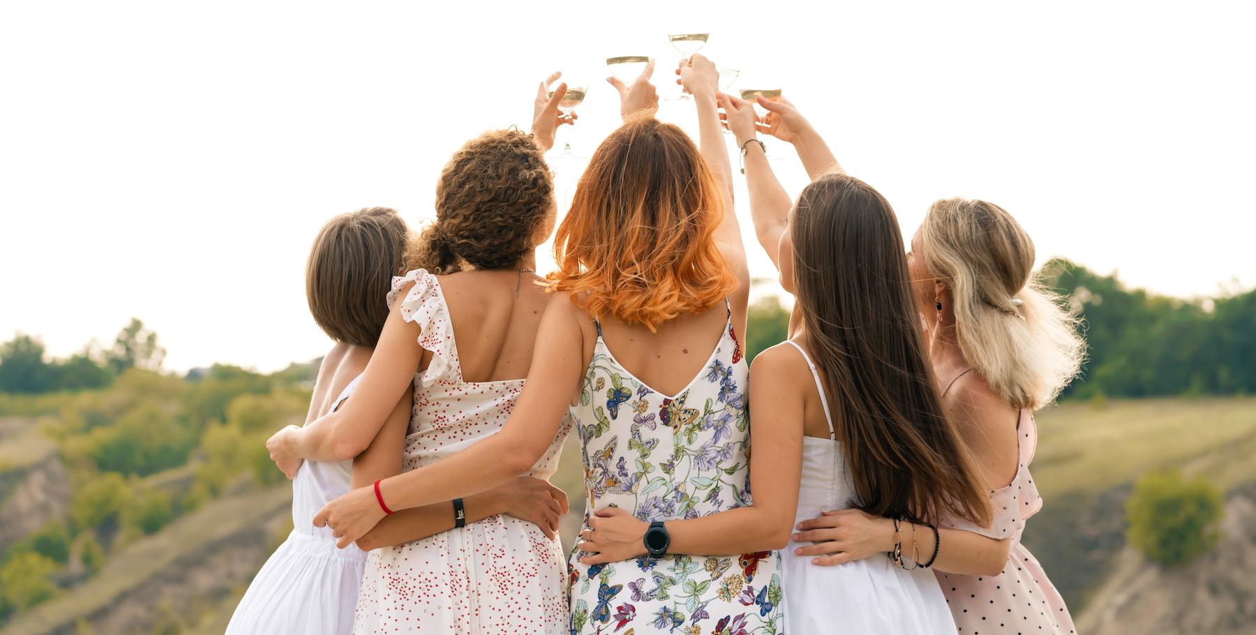 best newport bachelorette parties
