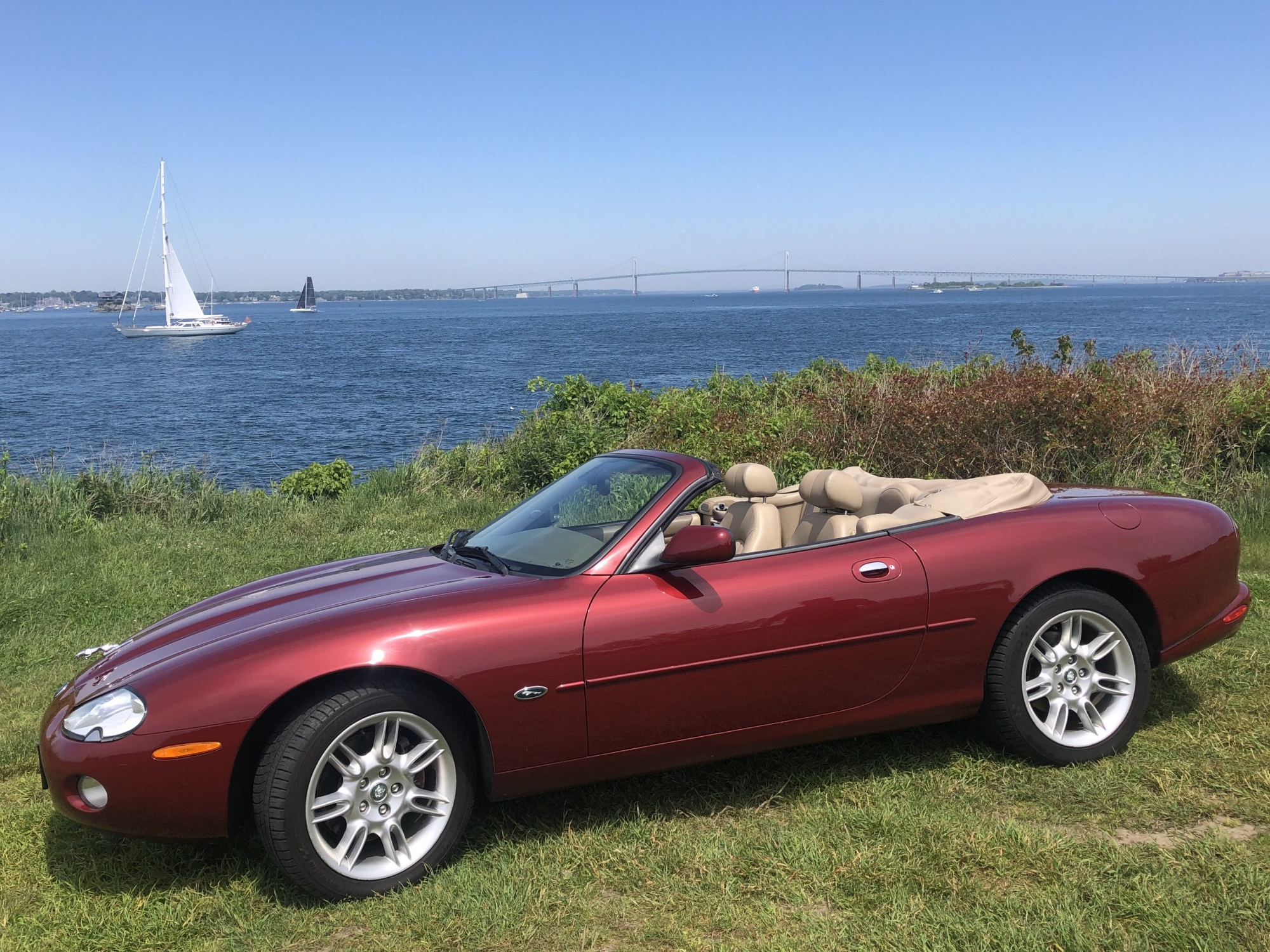 jaguar convertible tours newport